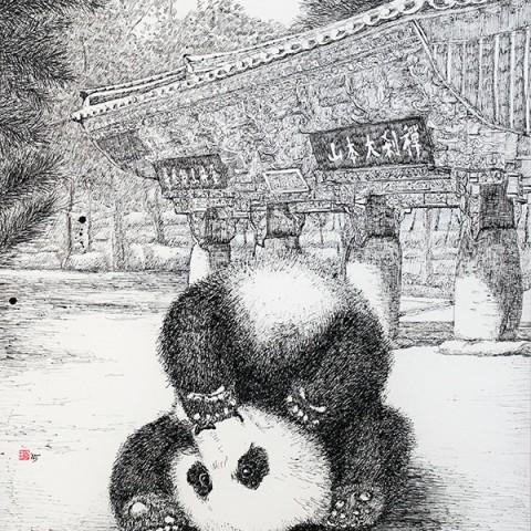 범어사 Panda