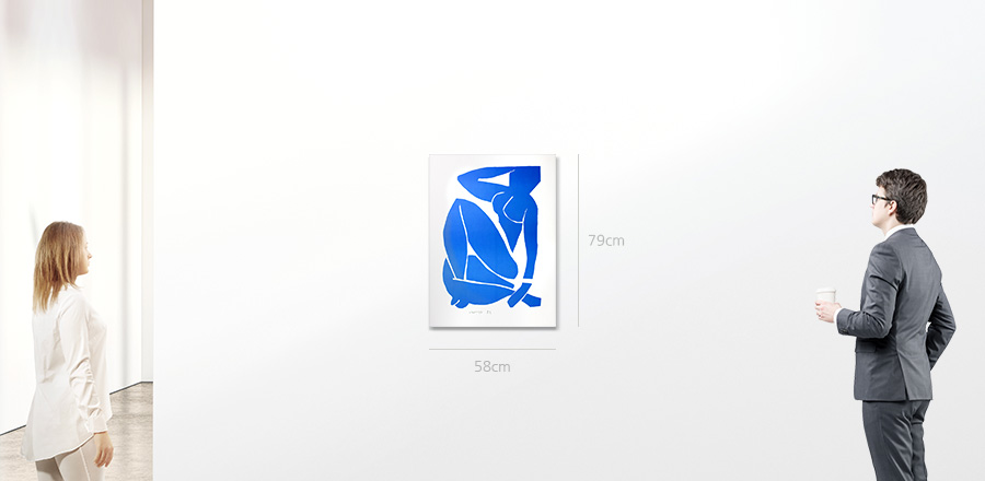 Henri Matisse 블루 누드 3 (Ne Bleu III)