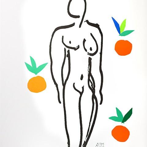 오렌지와 누드