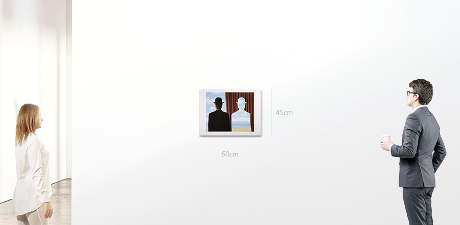 Rene Magritte 데칼코마니(Decalcomanie)